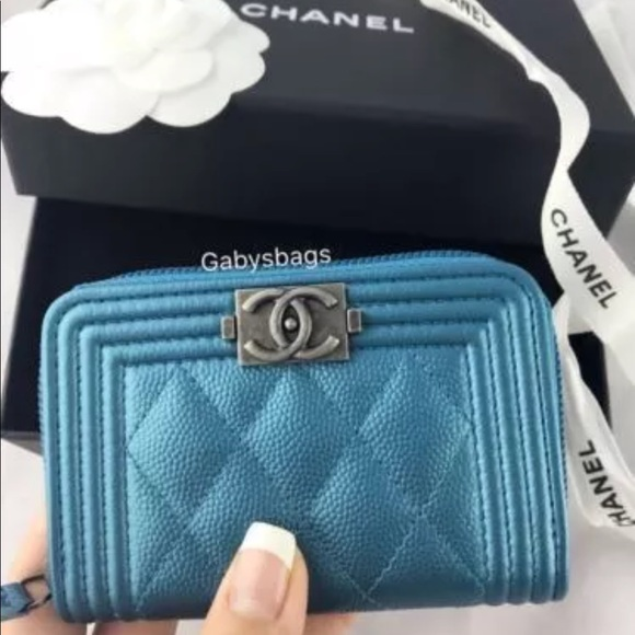 85291e0f295c CHANEL Bags | Nwt Le Boy Coin Card Holder Wallet 17k | Poshmark